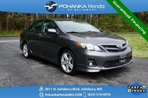 2013_Toyota_Corolla_S ** W / Sunroof Guaranteed Financing **_ Salisbury MD