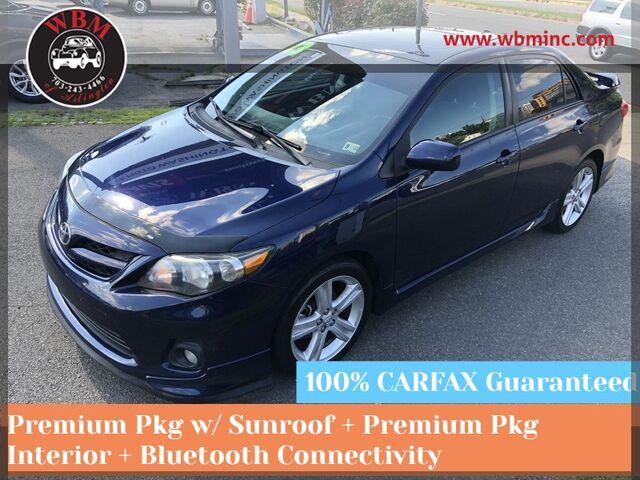 2013 Toyota Corolla S Premium Sedan 4D Arlington VA