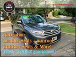2013 Toyota Highlander 4WD Limited V6 w/ 3rd Row