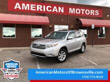 2013_Toyota_Highlander_Base Plus V6_ Brownsville TN