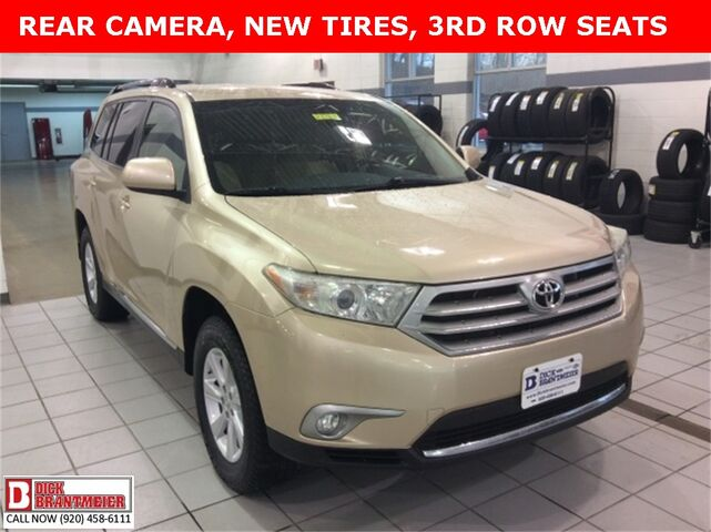 2013 toyota highlander interior