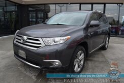 2013_Toyota_Highlander_Limited / 4X4 / Heated Leather Seats / Navigation / Sunroof / JBL Speakers / Bluetooth / Back Up Camera / 3rd Row / Seats 7 / Cruise Control / 23 MPG_ Anchorage AK