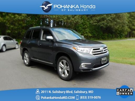 2013_Toyota_Highlander_Limited AWD ** NAVI & SUNROOF ** ONE OWNER **_ Salisbury MD