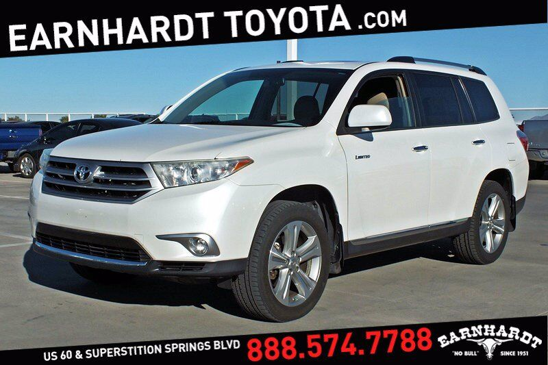 2013 Toyota Highlander Limited AWD *HEATED SEATS* Mesa AZ