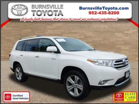 2013_Toyota_Highlander_Limited_ Burnsville MN