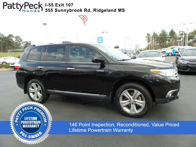 2013 Toyota Highlander Limited FWD Jackson MS
