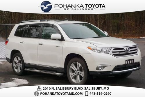 2013_Toyota_Highlander_Limited_ Salisbury MD