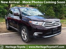 2013 Toyota Highlander Limited South Burlington VT
