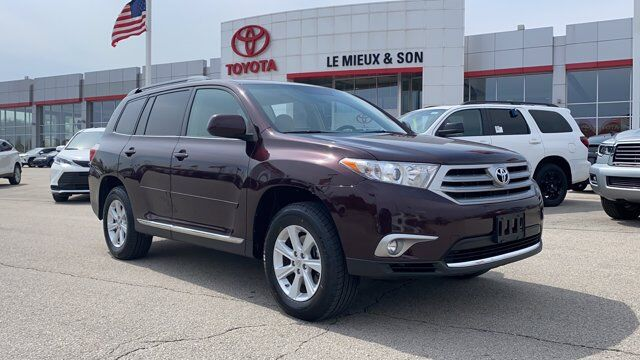 2013 Toyota Highlander Plus Green Bay WI