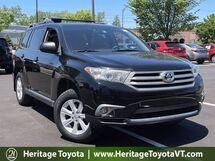 2013 Toyota Highlander Plus South Burlington VT
