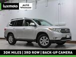 2013 Toyota Highlander SE 4WD 30k Mi 3rd Row Back-Up Cam Heated Seats
