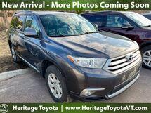 2013 Toyota Highlander SE South Burlington VT