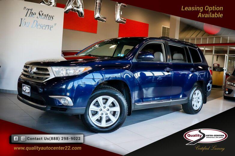 2013 Toyota Highlander Special Edition Pkg Springfield NJ