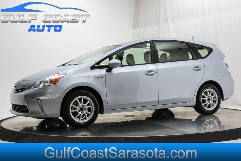 2013_Toyota_PRIUS V_THREE NAVIGATION WAGON ONLY 66K MILES GREAT MPG_ Sarasota FL