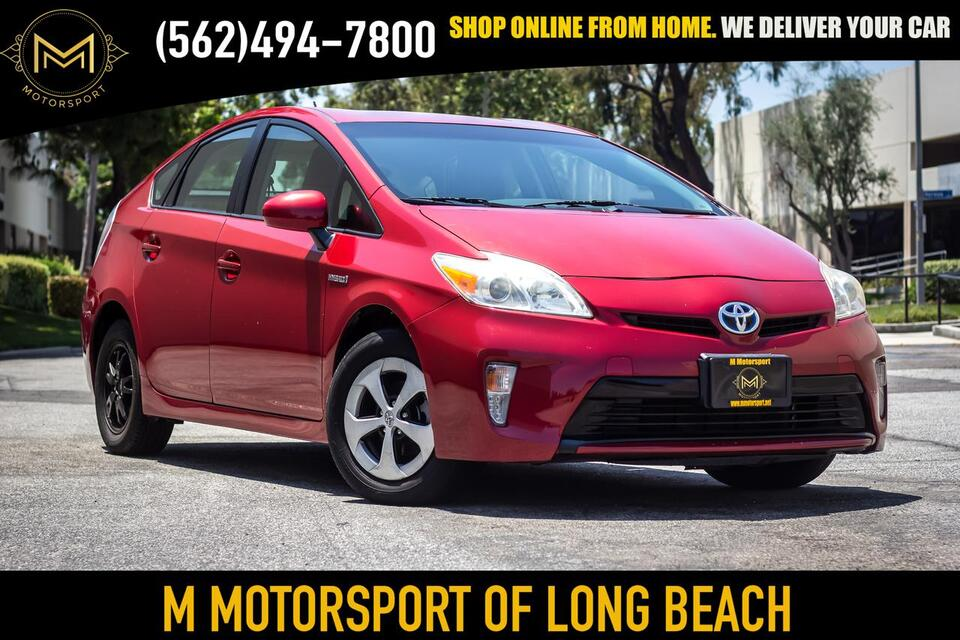 2013_Toyota_Prius_Three Hatchback 4D_ Long Beach CA