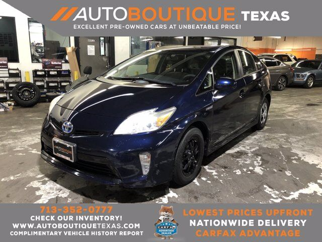 2013 Toyota Prius Two Houston TX