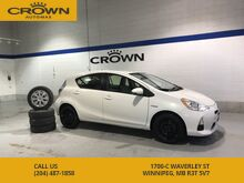 2013_Toyota_Prius c_C Hybrid **Winter Tires** Extremely Low Kms** Accident Free** Well Maintained**_ Winnipeg MB