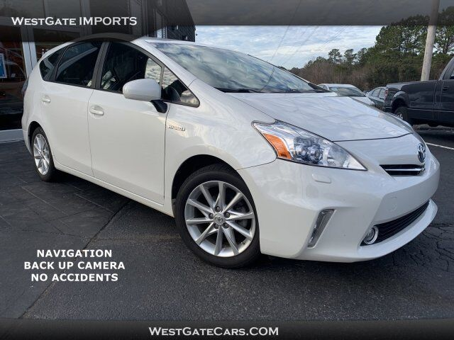 2013 Toyota Prius v five Raleigh NC