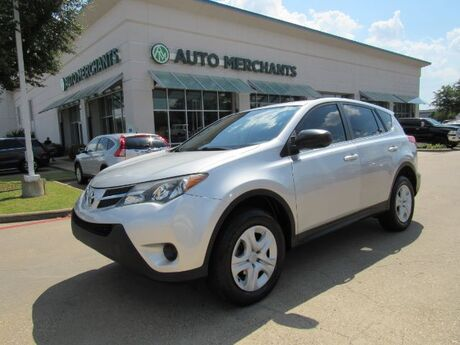 2013 Toyota RAV4 LE AWD CLOTH SEATS, BACKUP CAMERA, ECO/SPORT MODE,  BLUETOOTH CONNECTIVITY, USB/AUX INPUT Plano TX