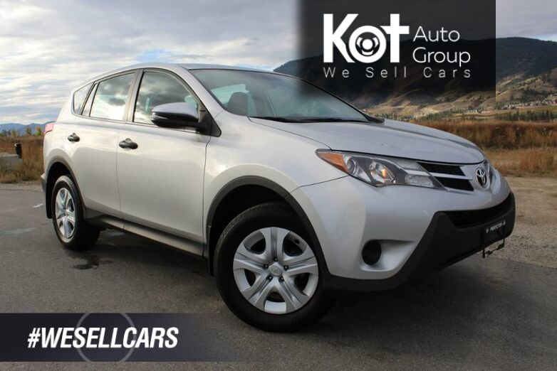 2013 Toyota RAV4 LE, FWD, Only One Owner, Lots of Room Kelowna BC