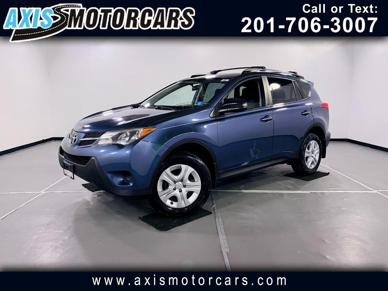 2013 Toyota RAV4 LE w/Backup Camera Jersey City NJ