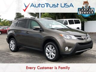 Toyota RAV4 Limited 1 OWNER LEATHER BACKUP CAM SUNROOF LOW MILES 2013