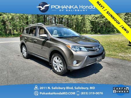 2013_Toyota_RAV4_Limited AWD  ** NAVI & SUNROOF ** ONE OWNER **_ Salisbury MD