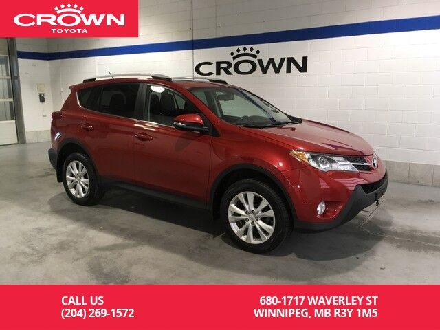 2013 Toyota RAV4 Limited AWD / One Owner / Immaculate Condition / Local Winnipeg MB