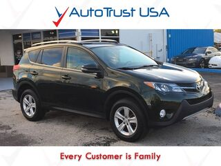 Toyota RAV4 XLE 1 OWNER BACKUP CAM SUNROOF BLUETOOTH 2013