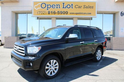 2013 Toyota Sequoia Limited 2WD Las Vegas NV