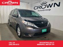 2013_Toyota_Sienna_LE /7-PASSENGER/ONE OWNER/LOW KMS/WINTER TIRES/_ Winnipeg MB