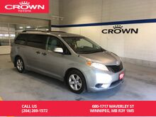 2013_Toyota_Sienna_V6 7-Pass FWD / One Owner / Local / All Highway Kms / Great Value_ Winnipeg MB