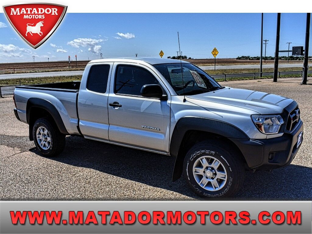 2013 Toyota Tacoma 2WD ACCESS CAB I4 AT PRERUNNER Wolfforth TX