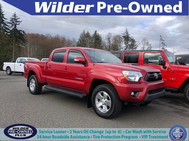 2013 Toyota Tacoma 4WD Double Cab Long Bed Port Angeles WA