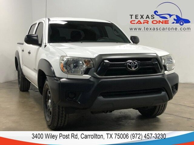 2013 Toyota Tacoma DOUBLE CAB AUTOMATIC BLUETOOTH BED LINER TOWING HITCH Carrollton TX