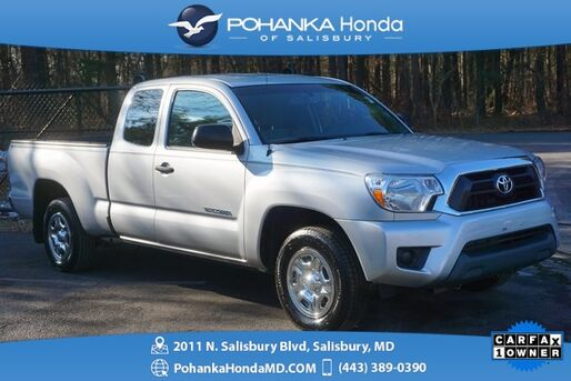 2013_Toyota_Tacoma_PreRunner ** ACCESS CAB ** LOW MILES ** 1 OWNER ** SR5_ Salisbury MD