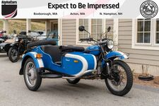 2013 Ural Patrol 2WD Blue & White Custom