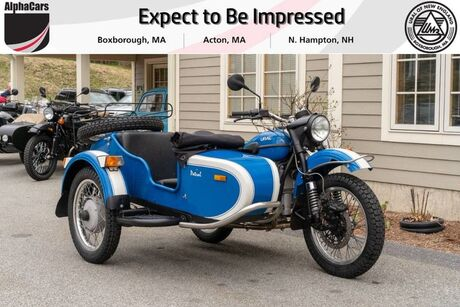 2013 Ural Patrol 2WD Blue & White Custom Boxborough MA