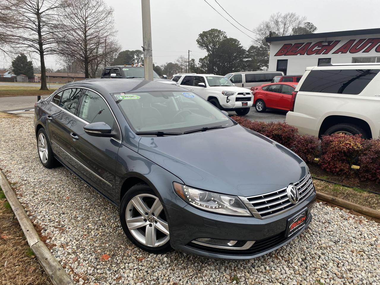 2013 VOLKSWAGEN CC SPORT, WARRANTY, LEATHER, HEATED SEATS, BLUETOOTH, AUX/USB PORT, PARKING SENSORS! Norfolk VA