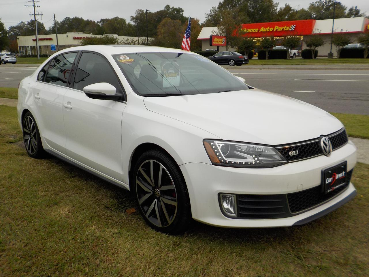 2013 VOLKSWAGEN GLI AUTOBAHN WITH NAV, LEATHER HEATED SEATS, BLUETOOTH, SUNROOF! Virginia Beach VA
