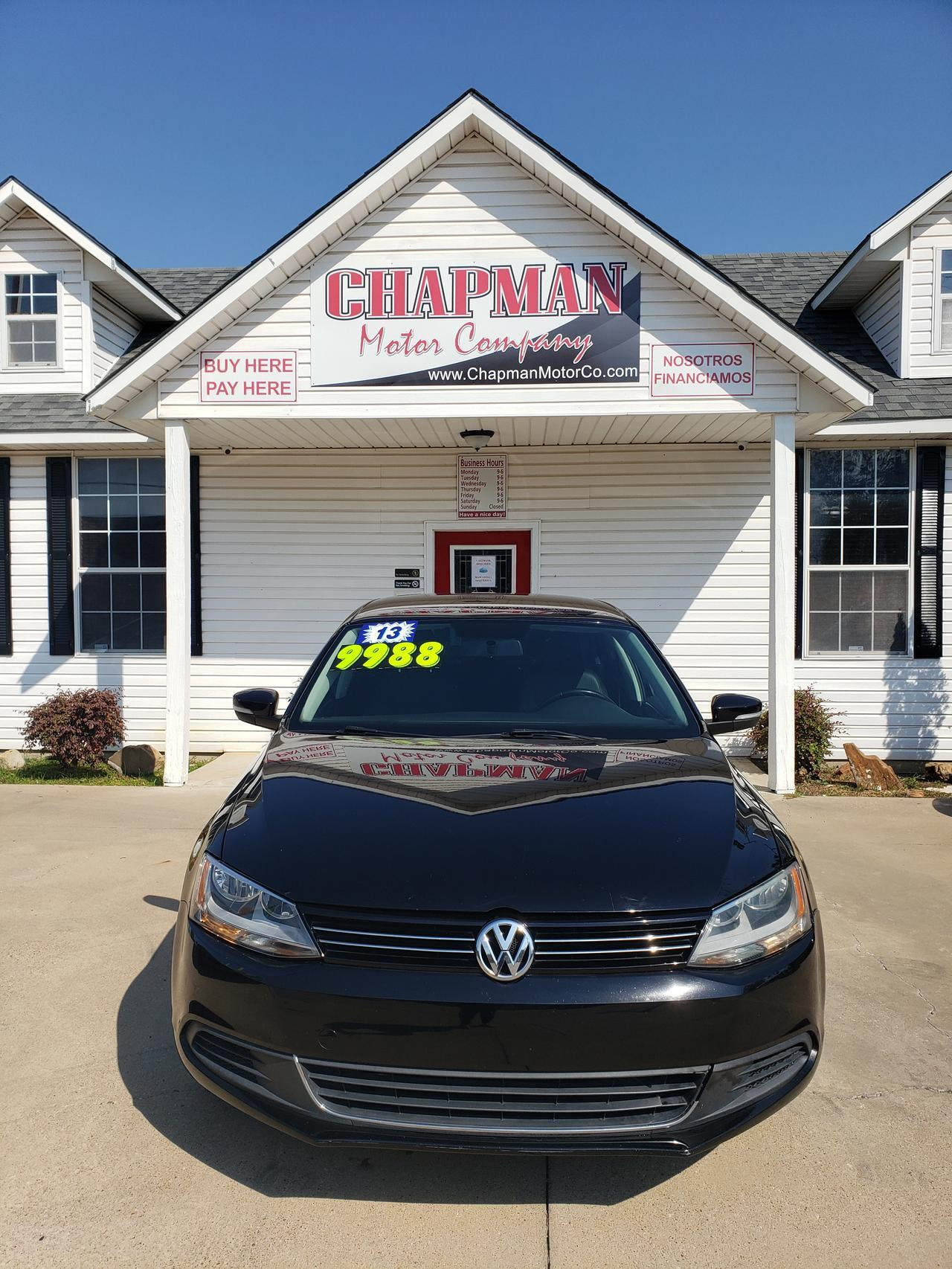 2013 VOLKSWAGEN JETTA Fort Worth TX