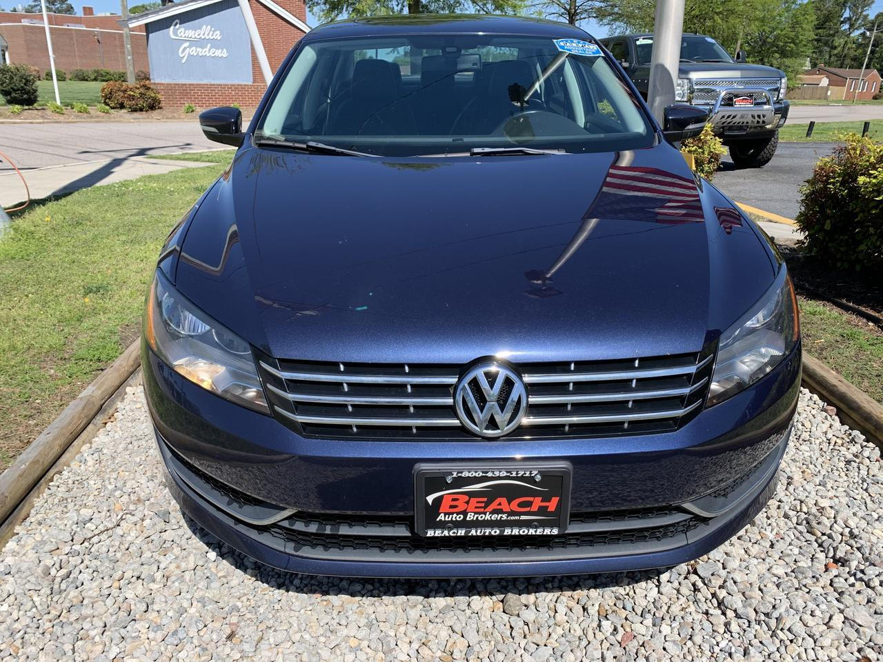 2013 VOLKSWAGEN PASSAT TDI SE, WARRANTY, LEATHER, SUNROOF, SATELLITE RADIO, HEATED FRONT SEATS, 1 OWNER, CLEAN CARFAX! Norfolk VA