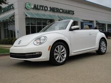 2013_Volkswagen_Beetle_2.0L TDI, DIESEL Turbo Convertible LEATHER, HTD SEATS, KEYLESS START, NAVIGATION, PREMIUM SOUND SYST_ Plano TX