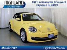 2013_Volkswagen_Beetle Convertible_2.0 TDI_ Highland IN