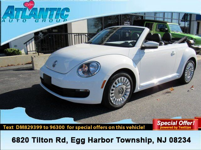 2013 Volkswagen Beetle Convertible 2.5L Egg Harbor Township NJ