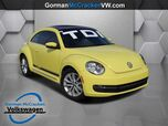 2013 Volkswagen Beetle Coupe 2.0L TDI with Sun