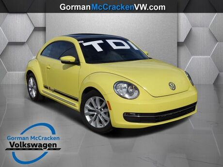 2013 Volkswagen Beetle Coupe 2.0L TDI with Sun Longview TX