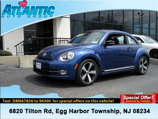 2013 Volkswagen Beetle Coupe 2.0T Turbo Egg Harbor Township NJ