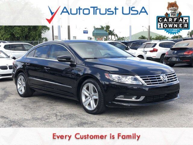 2013 Volkswagen CC 2.0T Sport 1 OWNER LEATHER ADAPTIVE LIGHTS LOW MILES Miami FL