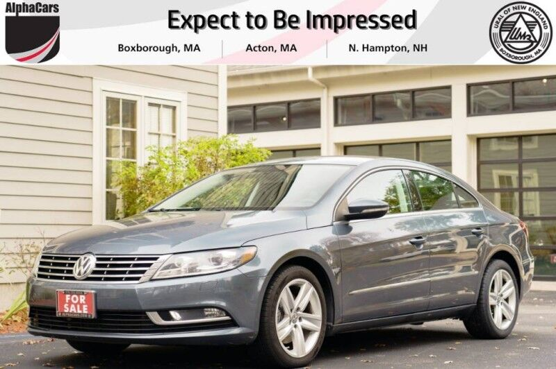 2013 Volkswagen CC Sport 6-Spd Manual Boxborough MA